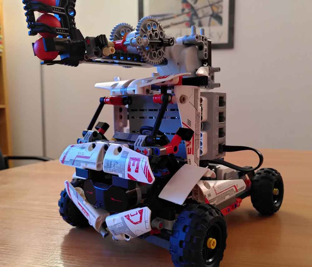 lego robot tdah