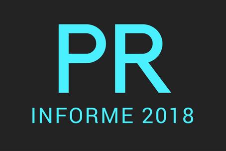 Eslògan del Informe 2018 PR