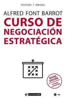 Portada del libro Curso de Negocación Estratégica