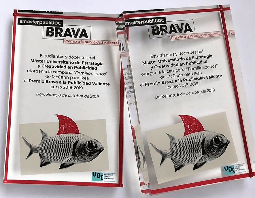 'Familiarizados' de McCann para Ikea España gana el Premio Brava del #masterpubliUOC