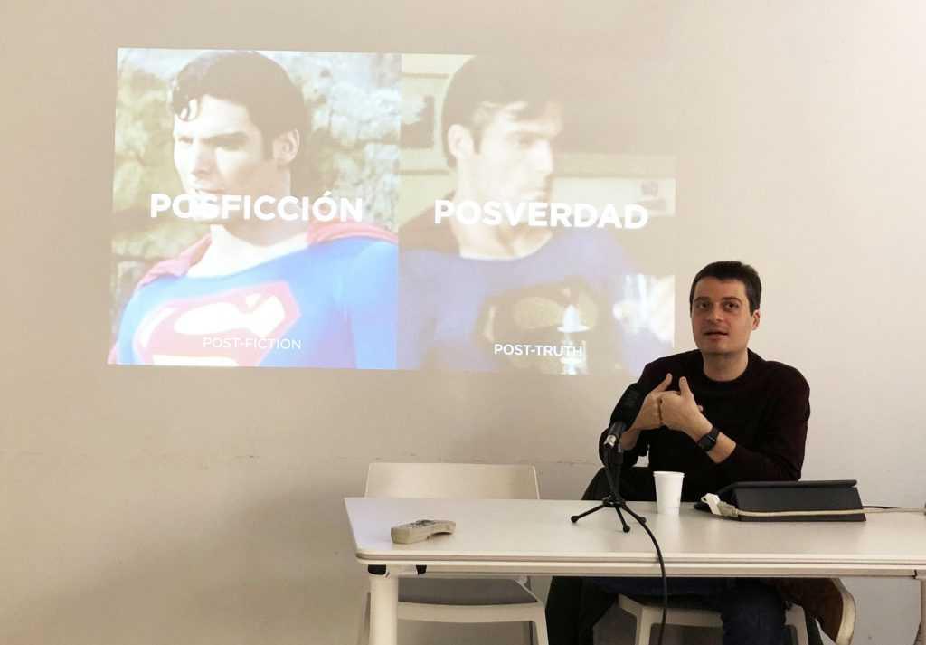 Manuel Bartual en el podcast Parenthesis