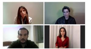 Captura de pantalla de la IV Jornada de Periodismo Móvil UOC-EFE.