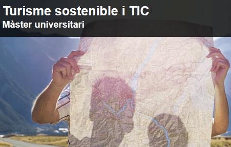 Carlota Sáez, estudiant del Màster de Turisme Sostenible i TIC, guanya una beca de la Direcció General de Turisme de la Generalitat