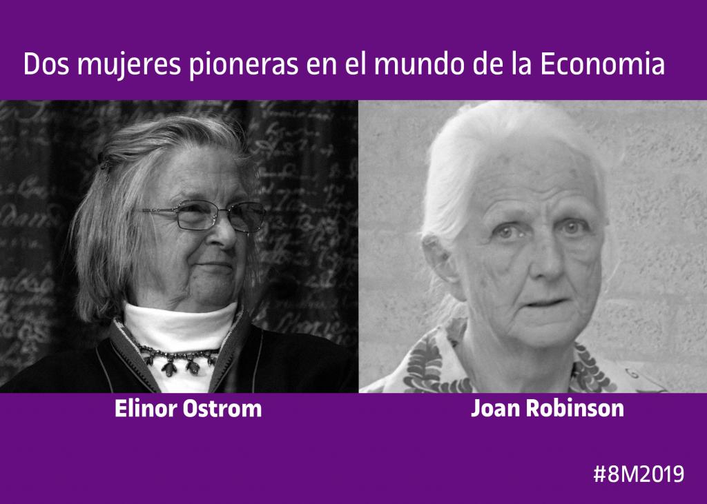 Dos mujeres referentes: Joan Robinson y Elinor Ostrom