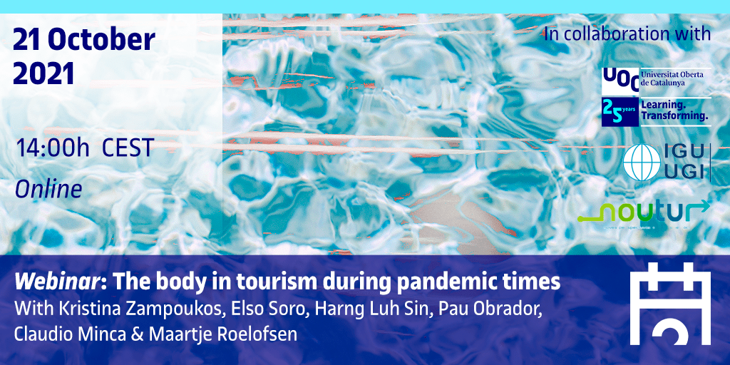 Webinar: The body in tourism during pandemic times