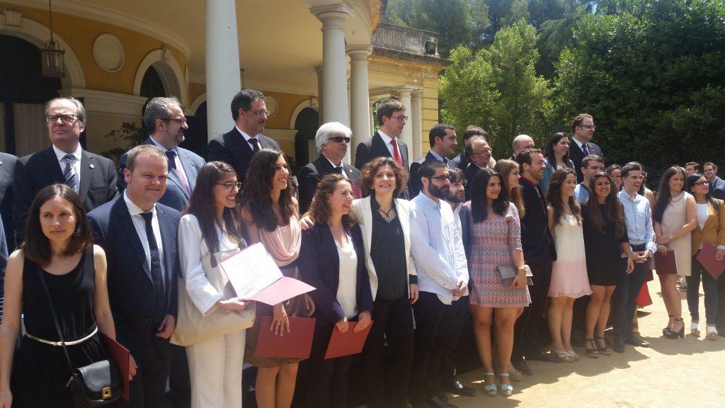 Entrega de los títulos de abogado a los estudiantes del Máster Universitario en Abogacía de la UOC