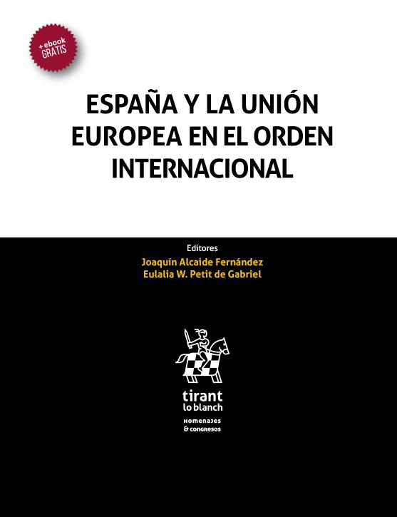 Publicación libro España y la Unión Europea en el orden internacional