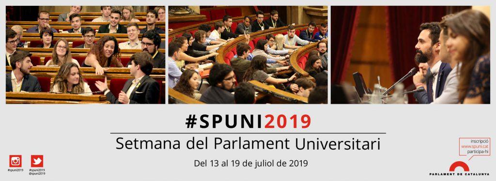 """Els """"parlamentaris"""" de la UOC a la #SPUNI2019"""