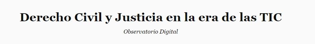 Derecho Civil y Justicia