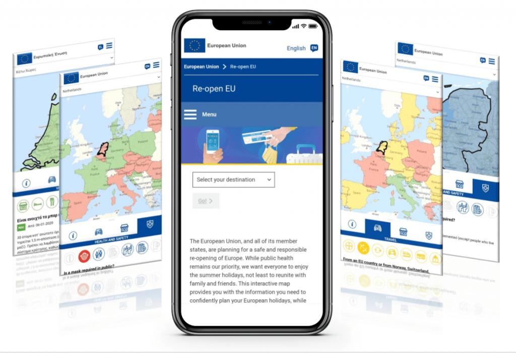 Re-open EU: Cómo viajar por Europa en tiempos de COVID-19