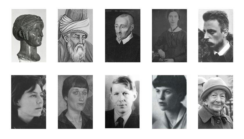 10 poetas internacionales que deberías conocer