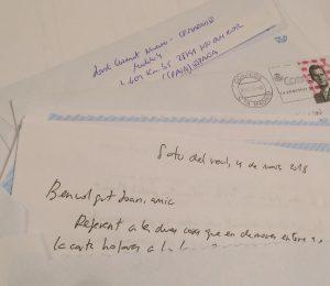 Cartes per la llibertat; escriure als presos com acció política