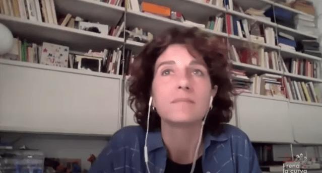 Marina Garcés en Frena la curva covid19 coronavirus