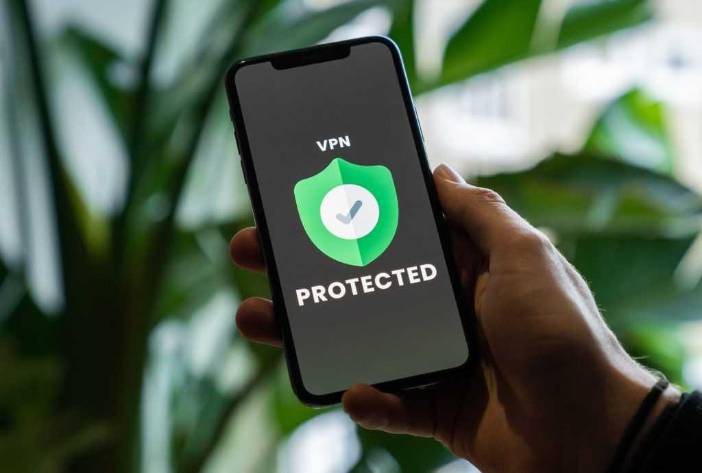 VPN en una pantalla del móvil