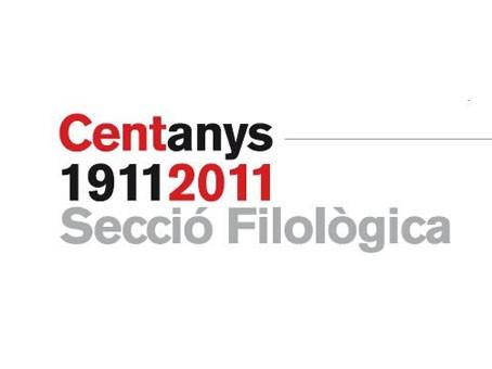 Cloenda del centenari de la Secció Filològica
